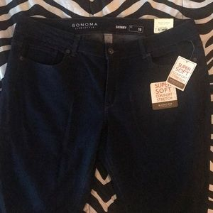 Sonoma skinny mid rise jeans
